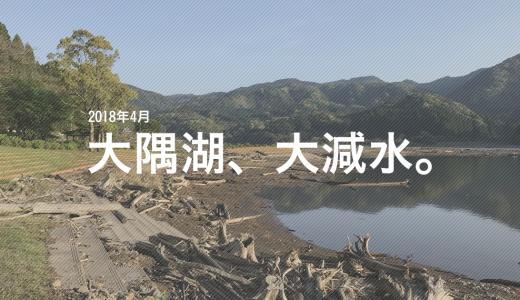 【2018年現在】大隅湖でおかっぱりのバス釣り!減水による影響は?【写真あり】