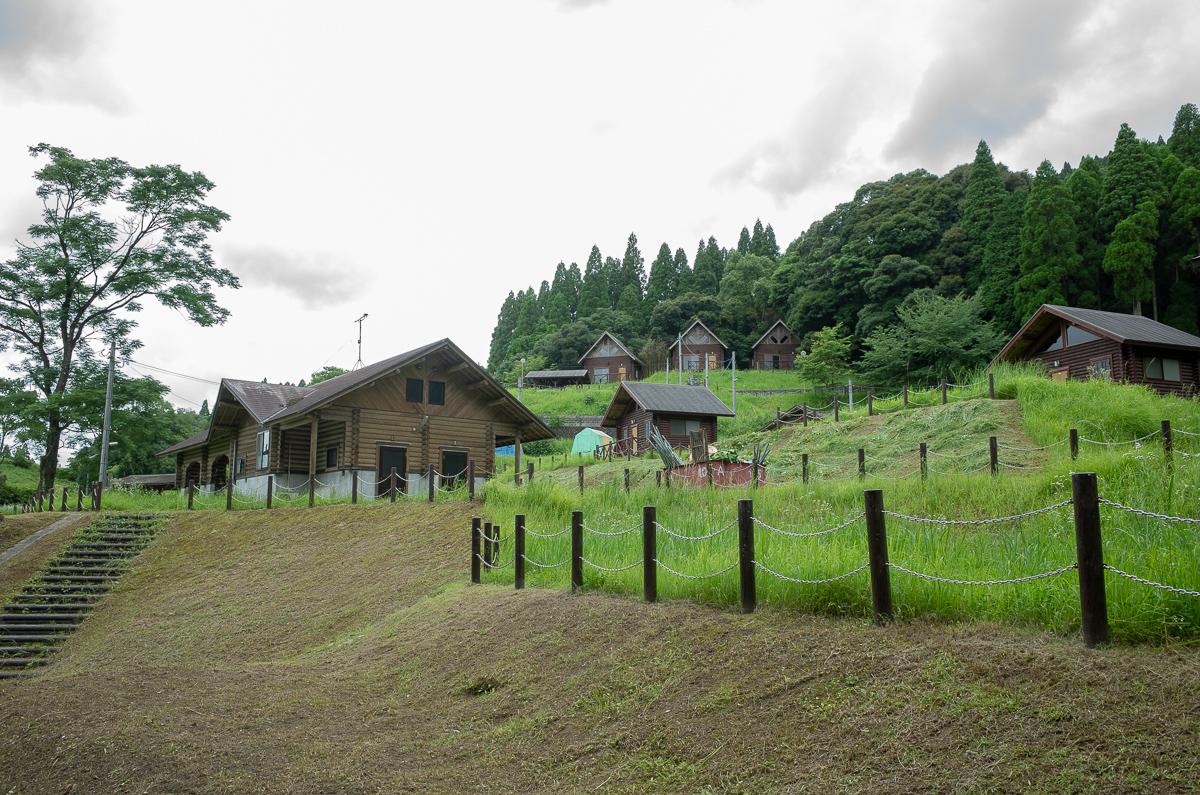 住吉池のキャンプ施設