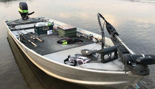 【バス釣り】初めてアルミボートでの釣りを体験! 身をもって感じたおかっぱりとの違い