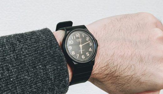 「チープカシオ」は釣り人にこそオススメの腕時計かもしれない